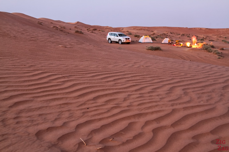Camping in Wahiba Sands - Oman