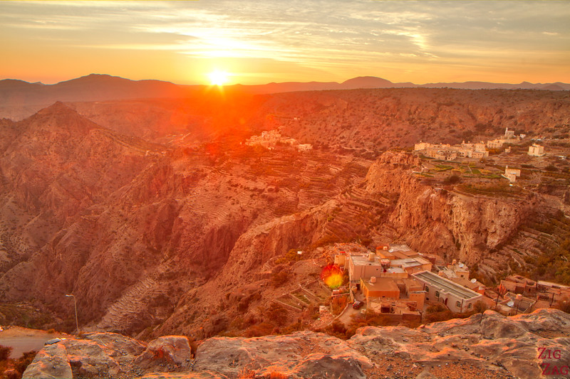 Jebel al Akhdar sunset 1