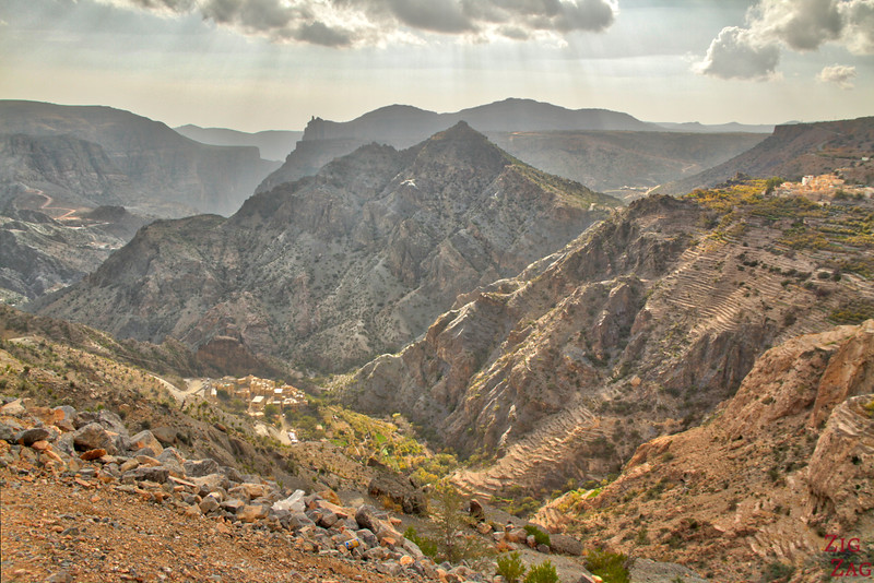 View from Al Aqur Jebel Akhdar