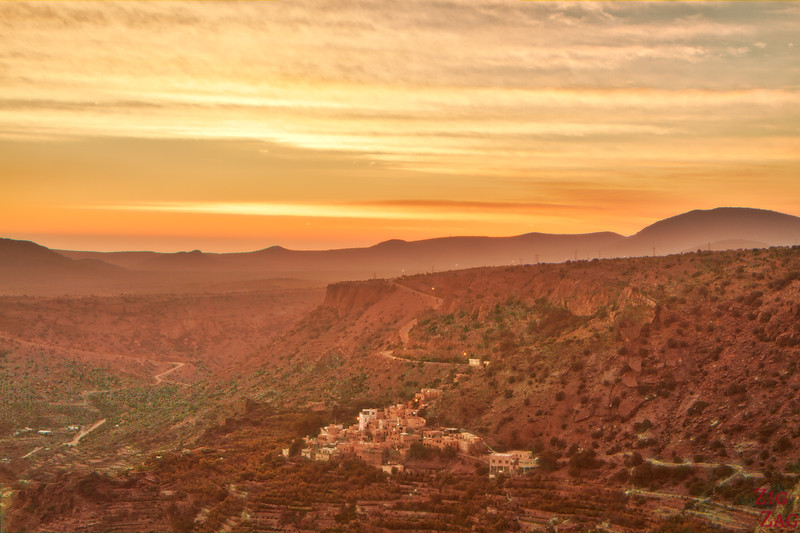 Jebel Akhdar sunset 3