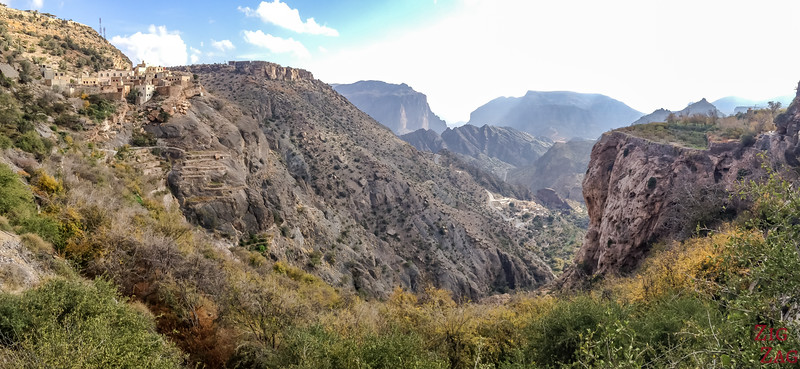 hike to Al Aqur Jebel Akhdar