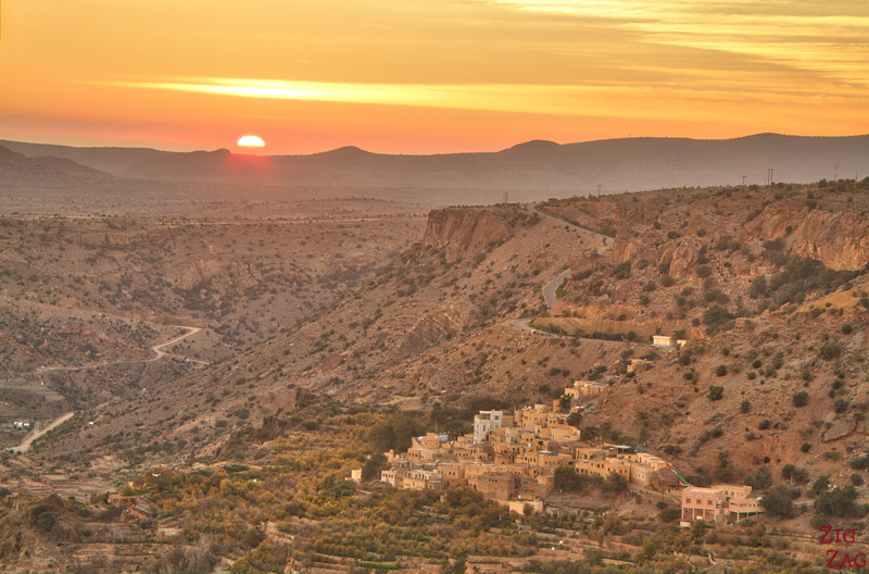 Jebel Akhdar sunset 2