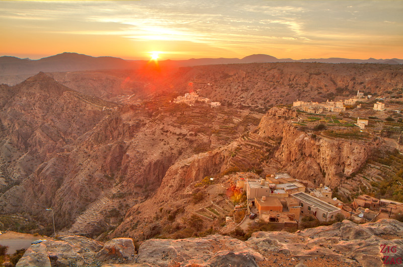 Jebel Akhdar sunset 1