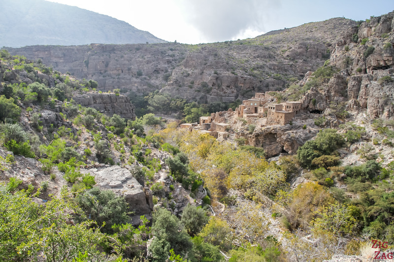 Wadi Bani Habib in Djebel Akhdar Oman