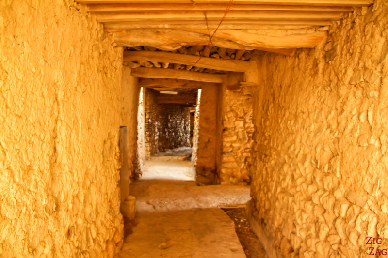 Tunnel of Al Ayn in Jebel Akhdar Oman
