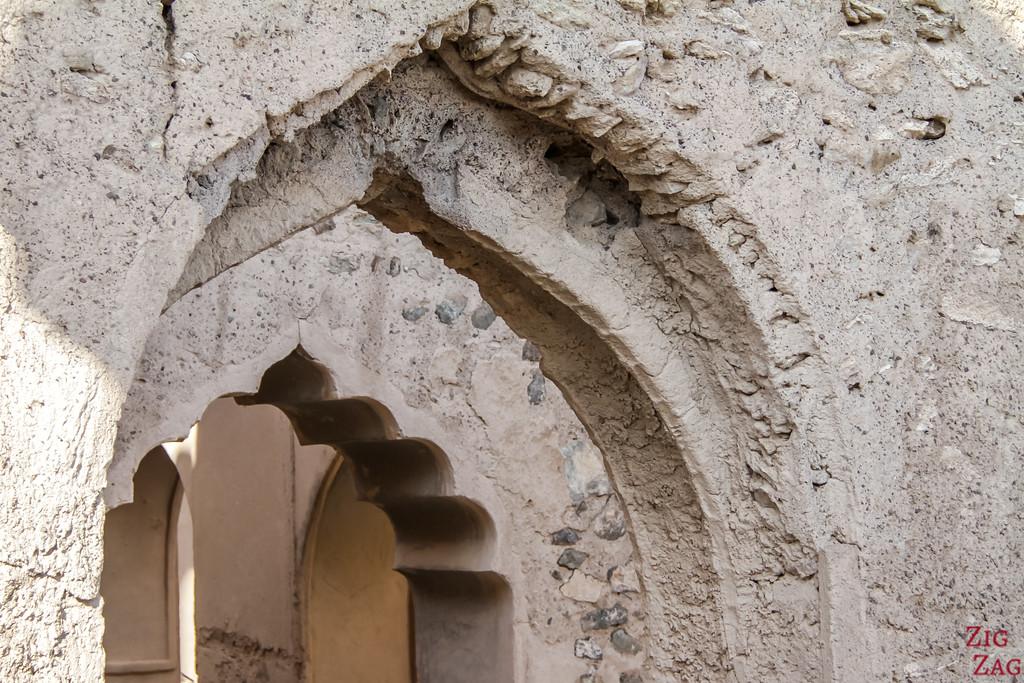 Al Munisifeh, Oman - ruin details 1