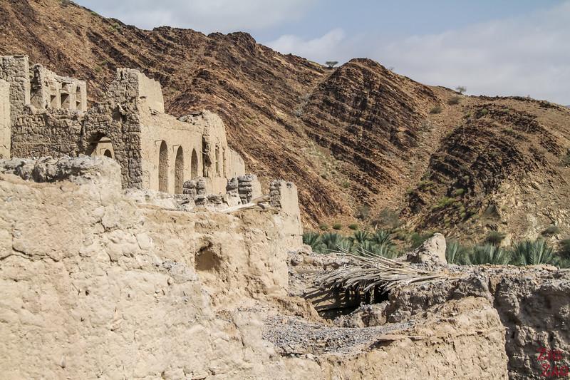 View from Birkat Al Mawz ruins 3