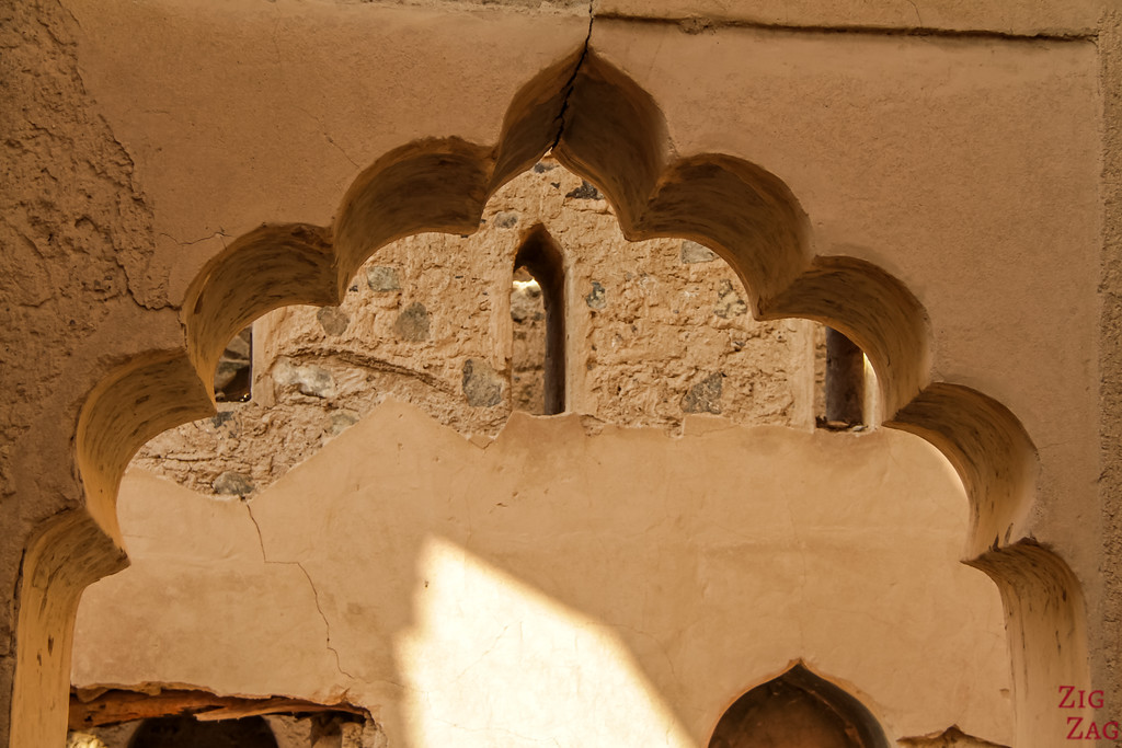 Al Munisifeh, Oman - ruin details 2
