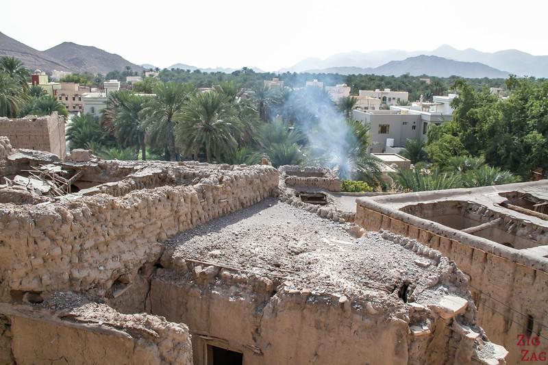 View from Birkat Al Mawz ruins 4