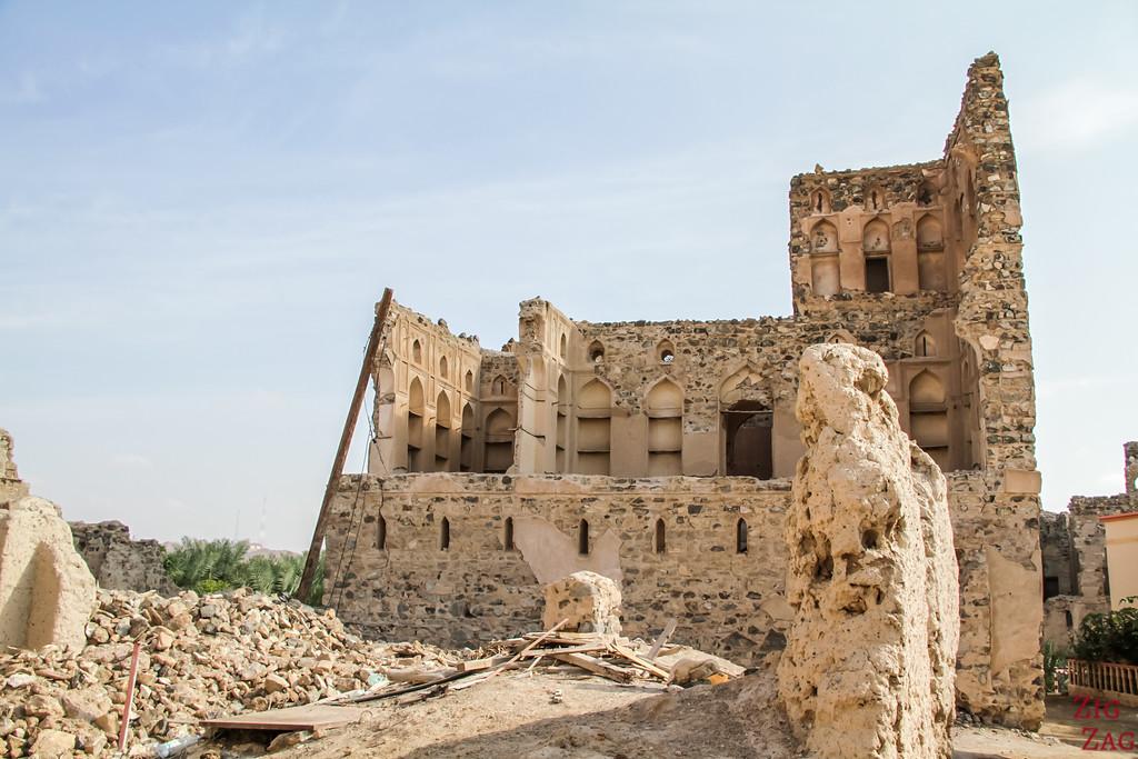 Al Munisifeh, Oman - ruins 9