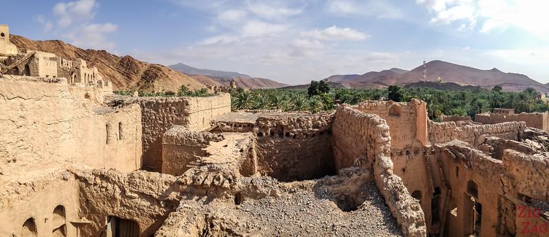 View from Birkat Al Mawz ruins 5