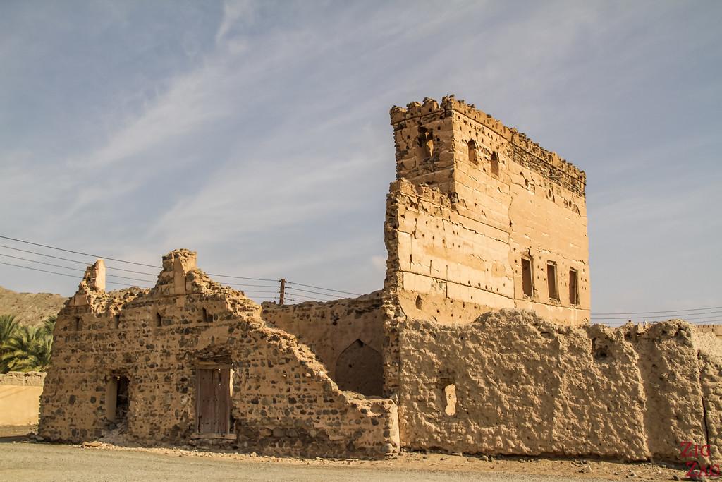 Al Munisifeh, Oman - ruins 8