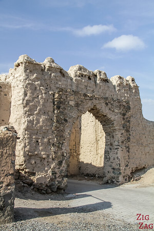 Al Munisifeh, Oman - fortified gate