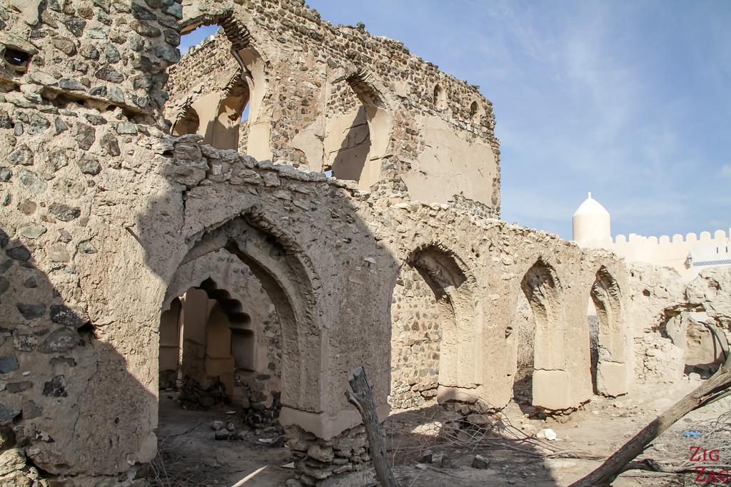 Al Munisifeh, Oman - ruins 4