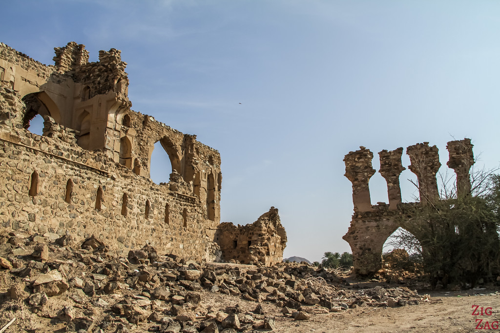 Al Munisifeh, Oman - ruins 3