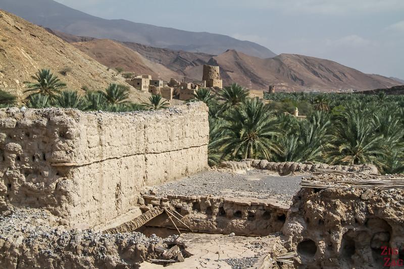View from Birkat Al Mawz ruins 1