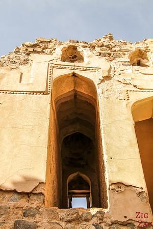 Al Munisifeh, Oman - ruin details 3