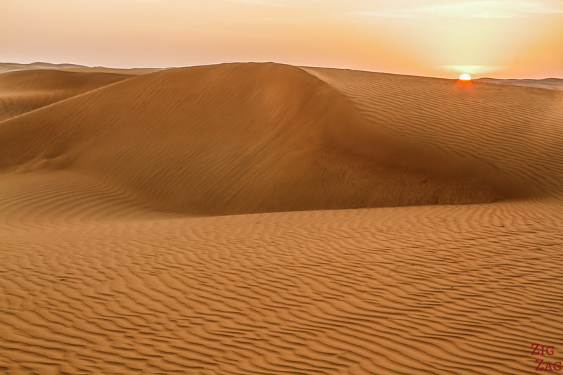 Wahiba Sands desert sunrise 2