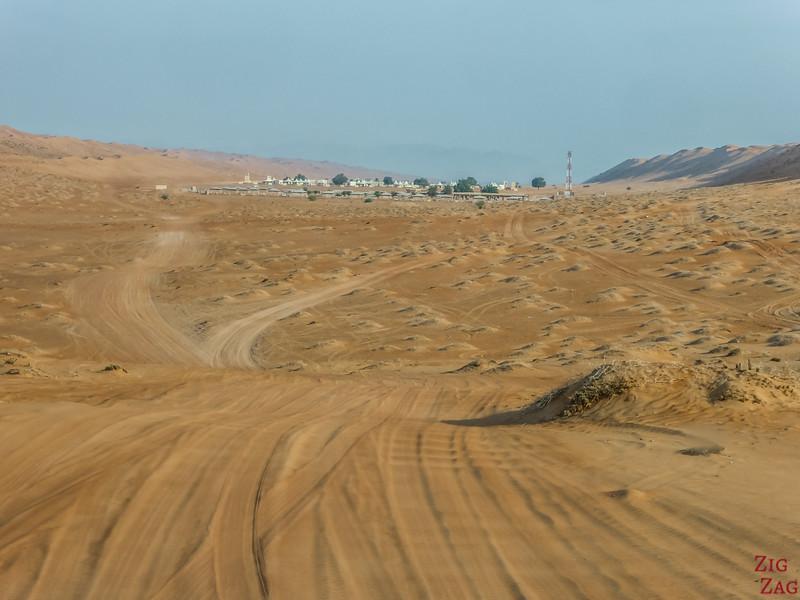 Desert Camp à Wahiba Sands  Oman 1