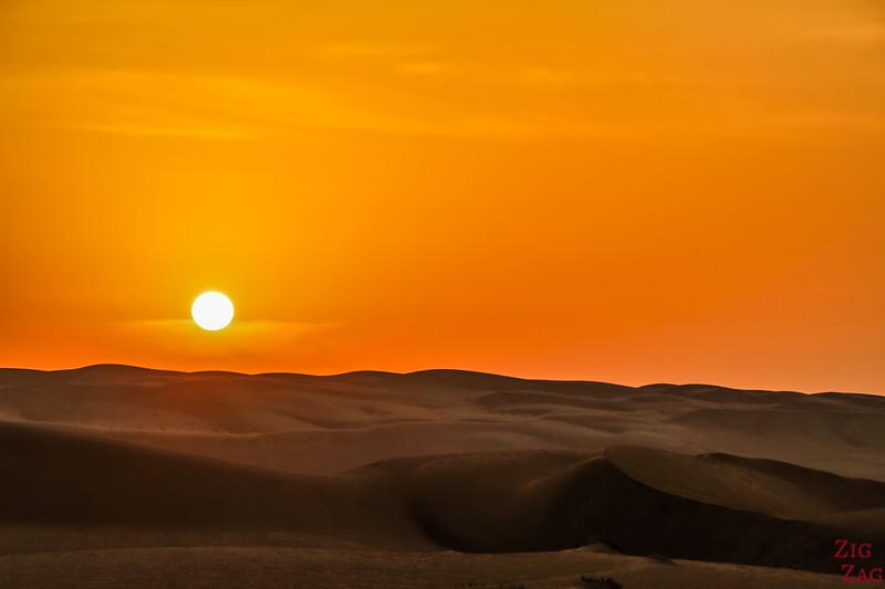 Wahiba Sands desert sunrise 3