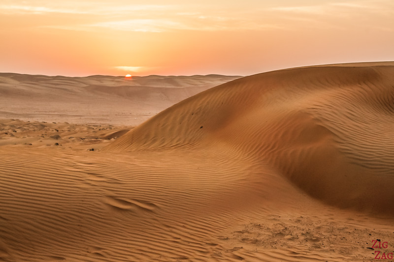 Dunes at Sunrise - Wahiba Sands - Oman 2