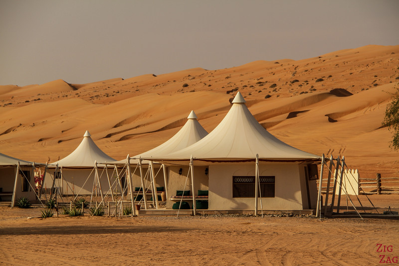 Desert Camp in Wahiba Sands campsite - Oman 2