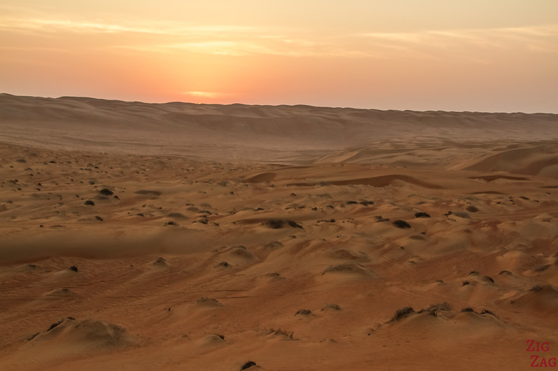 Dunes at Sunrise - Wahiba Sands - Oman 1
