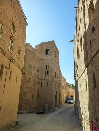 Al Hamra, Oman - old town street