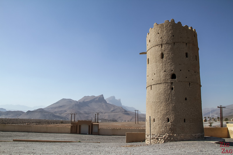 Al Hamra, Oman - old tower