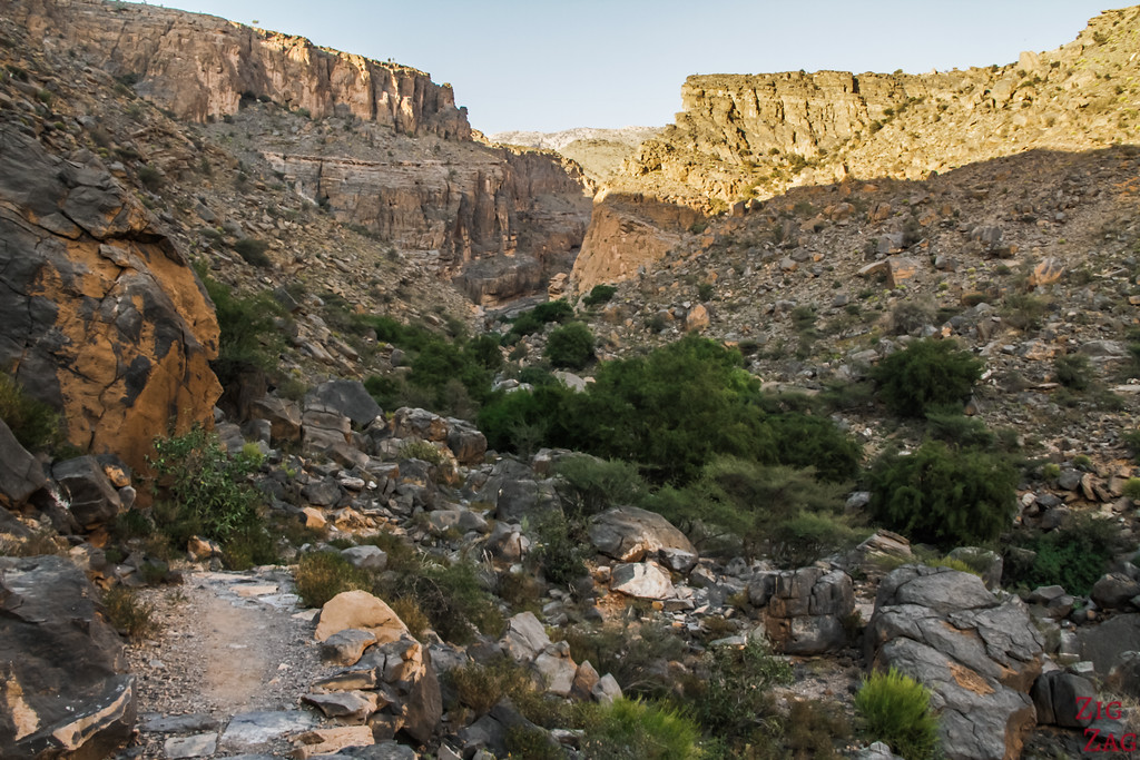 W9 randonnée Misfat al Abriyeen Oman 7