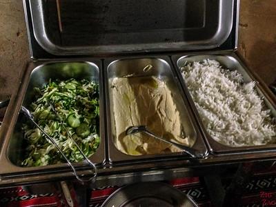 Meal 2 - Misfah old house - Misfat Al Abriyeen - Oman