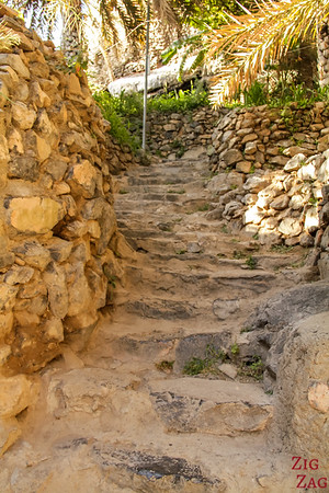 Misfat Al Abriyeen village - Oman - stairs 2