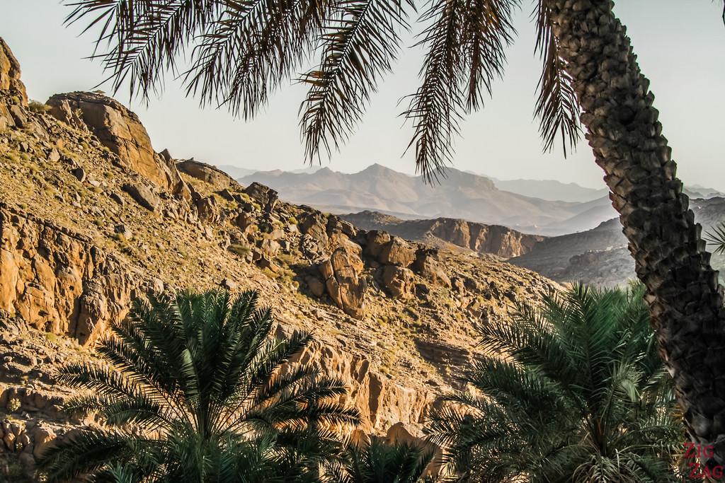 W9 randonnée Misfat al Abriyeen Oman 1