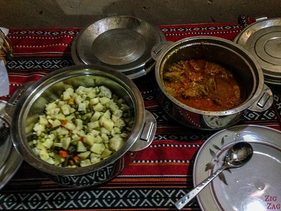 Misfah Old House - repas 2