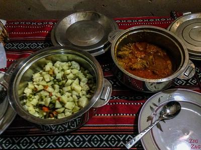Meal 1 - Misfah old house - Misfat Al Abriyeen - Oman