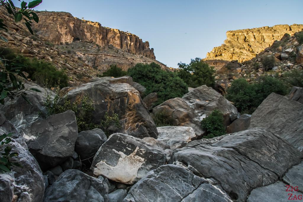 W9 randonnée Misfat al Abriyeen Oman 8