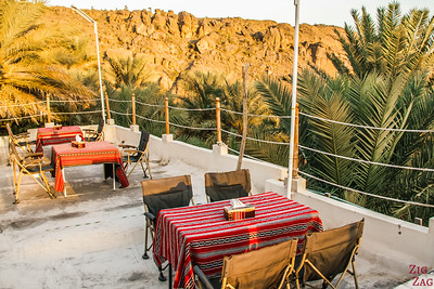 Roof terrace - Misfah old house - Misfat Al Abriyeen - Oman