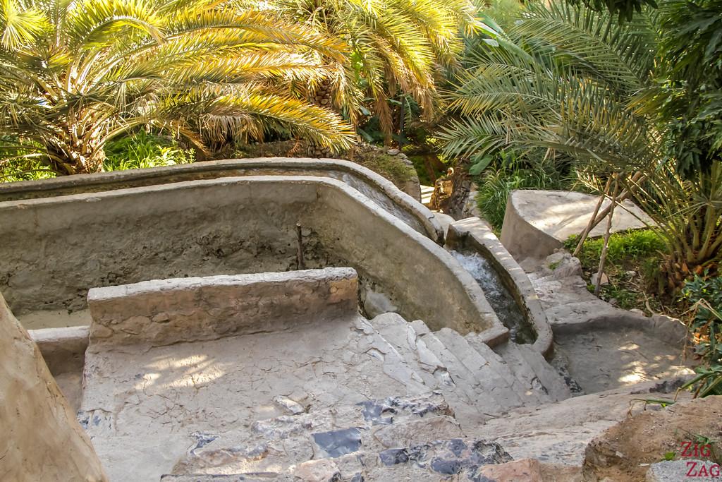 village Misfat Al Abriyeen - falaj