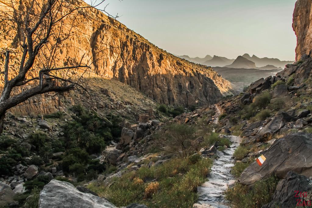 W9 hike - Misfat Al Abriyeen - Oman 11