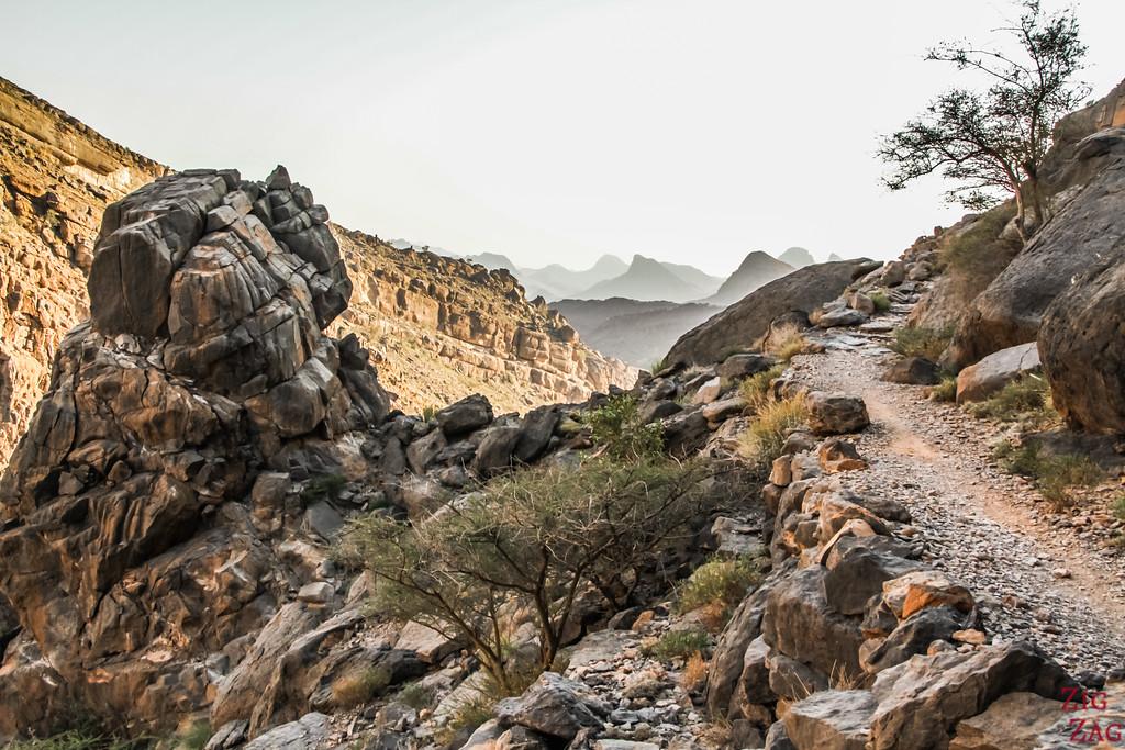 Misfat Al Abriyeen randonnée 3