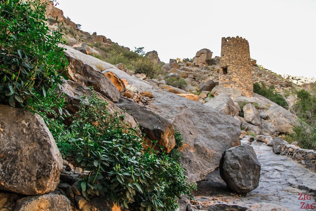 W9 randonnée Misfat al Abriyeen Oman 3