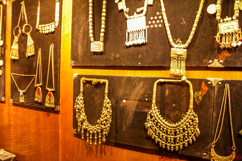 Nizwa Fort, Oman - Jewellery exhibit