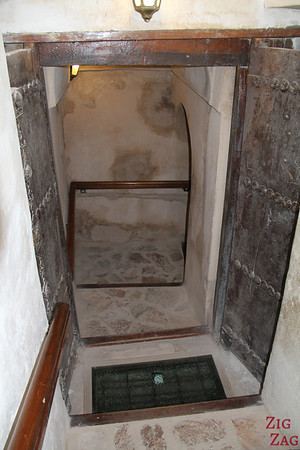 Nizwa Fort, Oman - tower stairs 2
