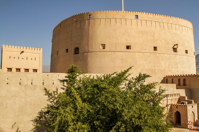 Nizwa Fort, Oman - view from the wall
