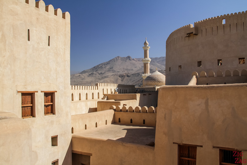 Oman Fotos - Nizwa Fort