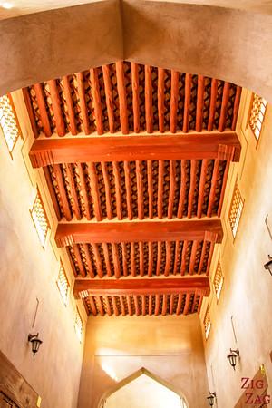 Nizwa Souq, Oman - wooden roof