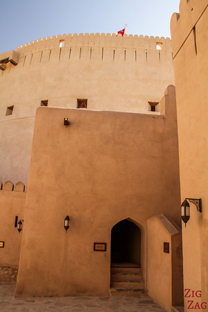 Nizwa Fort, Oman - castle upper area