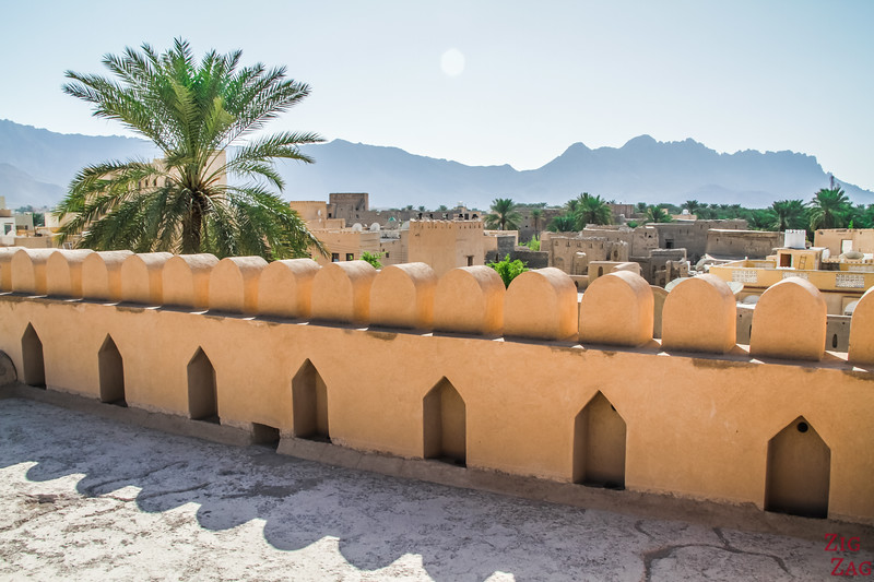 Nizwa Fort, Oman - castle upper area 2