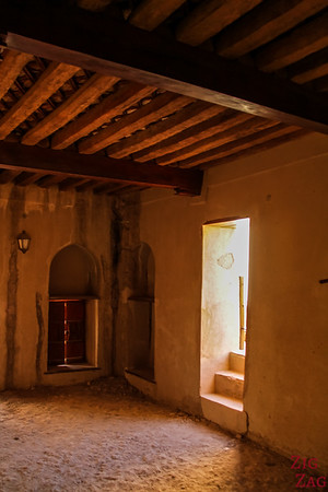 Nizwa Fort, Oman - room