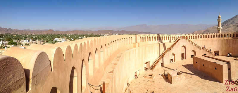 Nizwa Fort, Oman - view of the tower top 2